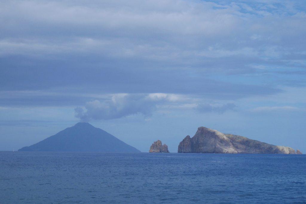 Eruption of Stromboli Volcano